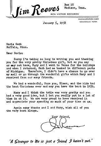 Letter to doris gath heres a letter jim sent in early 1958 right after the holidays to his close friend doris gath and her family in buffalo minnesota thanking them for a negle Image collections